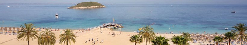 The Bay of Magaluf